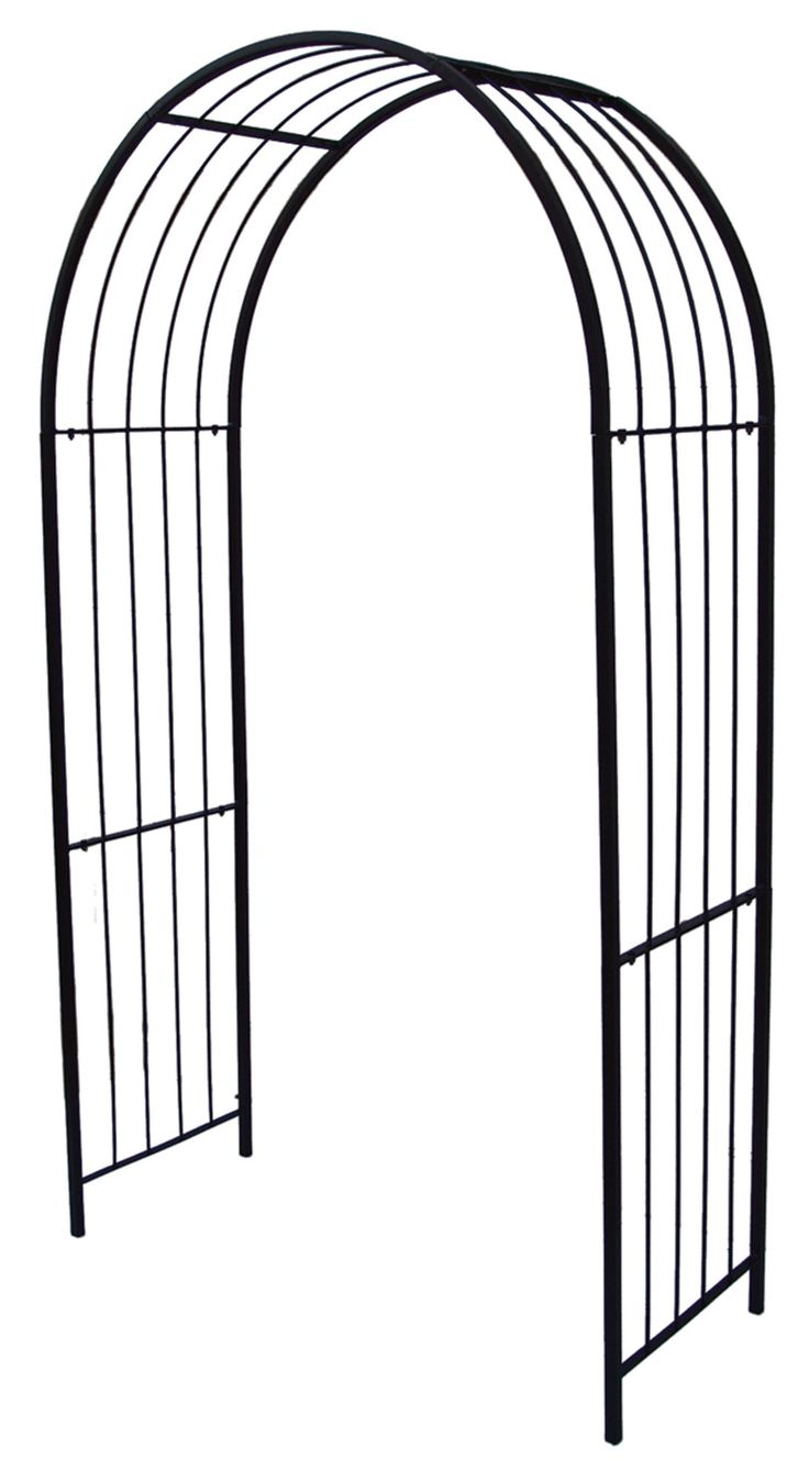 Features:  -Treated steel prevents rust.  -Simple installation.  -Anchors included.  --The Griffith Creek Designs Newport Arbor is great for all occasions. Special occasions require a design that can