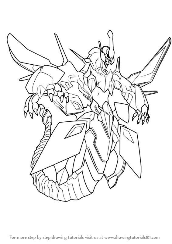 Learn How To Draw Clear Wing Synchro Dragon From Yu Gi Oh Official Card Game Yu Gi Oh Official Card Game Step By Step Drawing Card Games Drawings Dragon