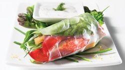 Salade de homard grillé au pamplemousse rose et à l'avocat | Recettes IGA | Fruits de mer, Barbecue, Recette facile