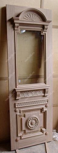 Входные деревянные двери | входные двери из массива дерева | изготовление входных дверей на заказ - Винчелли