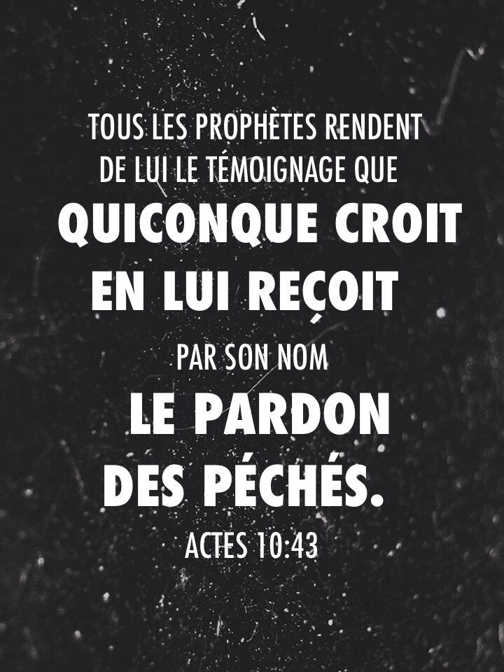 Actes 10:43                                                                                                                                                                                 Plus