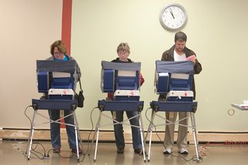 Forest Park goes to the polls | News | Forest Park Review