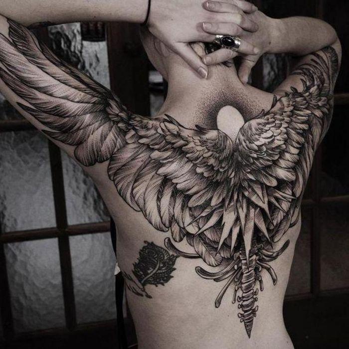 1001 Ideen Fur Ein Engel Tattoo Und Infos Uber Die