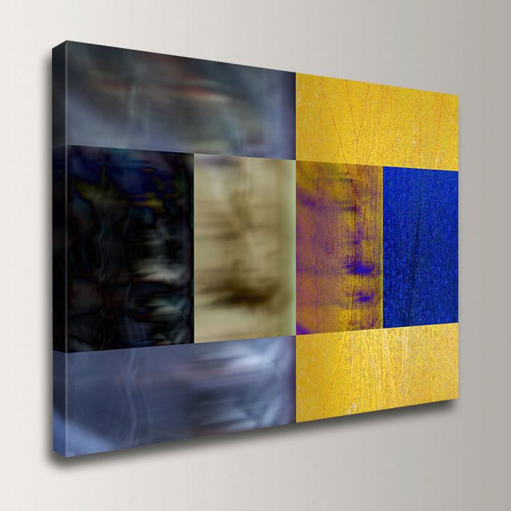 Canvas Decor Night And Day Modern Art By TheModernArtShop,