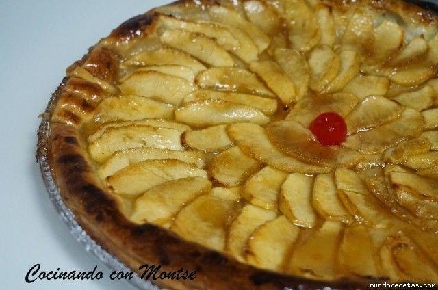 Receta de Tarta de hojaldre con manzana