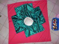 vierkante 'cirkel'rok voor volwassenen