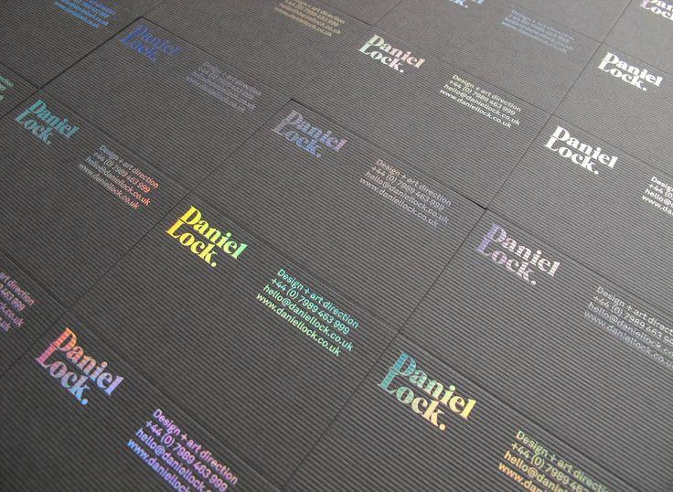 holographic foil print