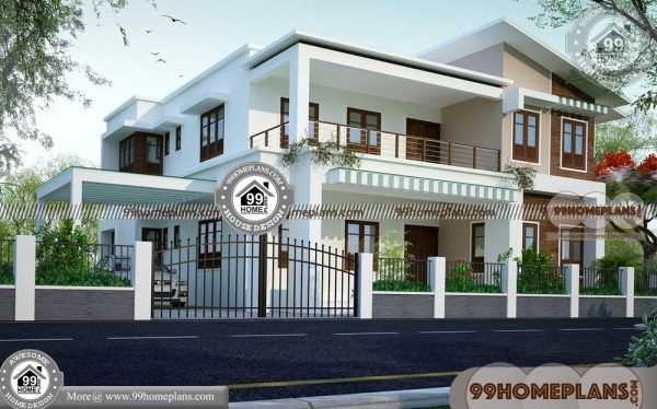 Modern Two Story House Floor Plans 40 Traditional Indian House Plan House Balcony Design Indian House Plans Modern Bungalow House Plans