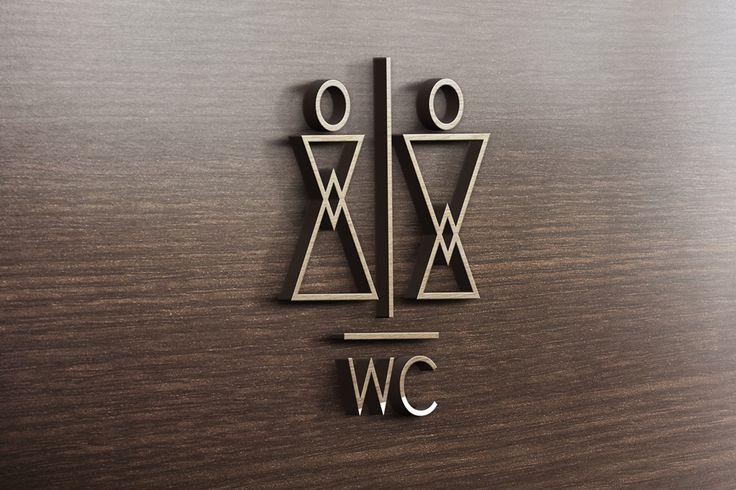 WC Signage on Behance