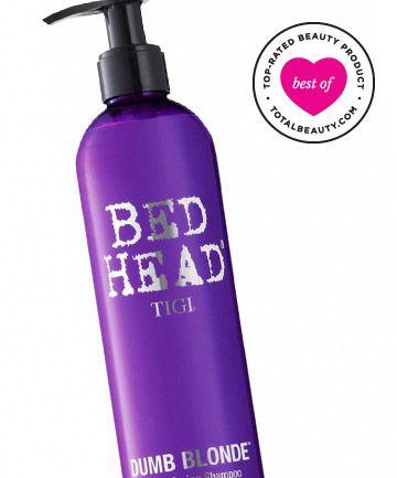 Best Purple Shampoo No. 7: Tigi Bed Head Dumb Blonde Purple Toning Shampoo, $14.99