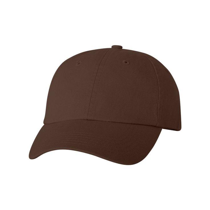Valucap Brown Classic Dad's Cap #corporategifts