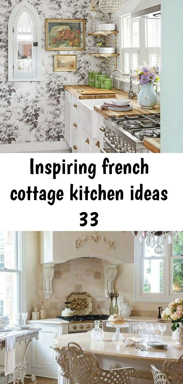 Inspiring French Cottage Kitchen Ideas 33 French Country Decorating Farmhouse Interior Design French Cottage Kitchen
