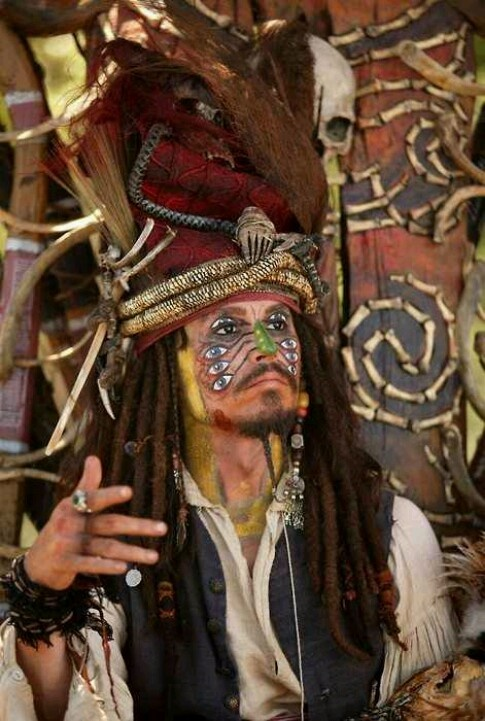 *CAPTAIN JACK SPARROW ~ Pirates of the Caribbean
