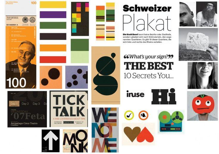 Image result for graphic design moodboard
