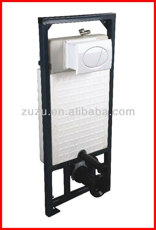 Concealed water tank systems toilet cistern flush for Water wall plumbing