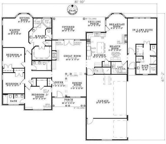 Hillside Plan With Garage Under 69131am: 17 Best Hillside House Plans Images On Pinterest