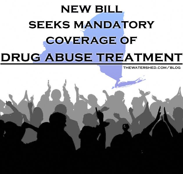 New bill seeks mandatory coverage of drug abuse treatment in New York ...