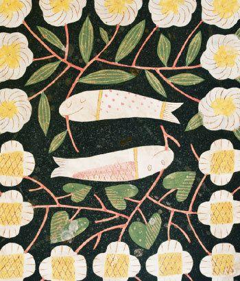 textile by Makoto Kagoshima