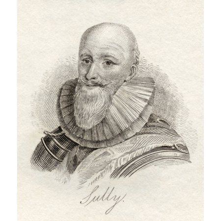 Maximilien Bthune Duc De Sully 1559-1641 Also Called Sovereign Prince Henrichemont Et De Bosbelle Soldier Prominent French Minister And Counsellor To Henry Iv From The Book Crabbs Historical Diction