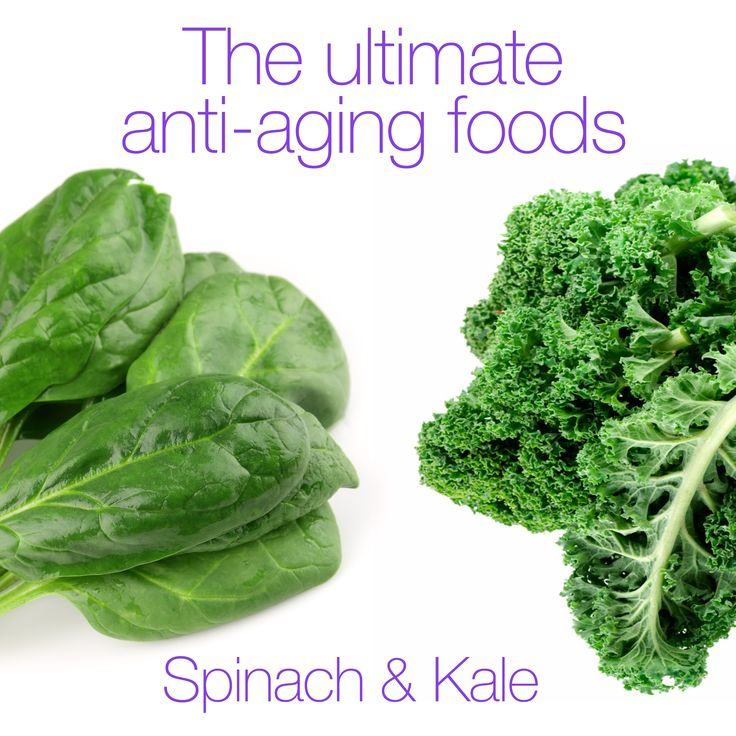 Spinach and kale have been labelled the ultimate anti-aging foods. Find out why, and how they are beneficial to you here: http://stayamazing1.tumblr.com/post/117250371179/the-ultimate-anti-aging-foods #ForeverYoungFriday #StayAmazing
