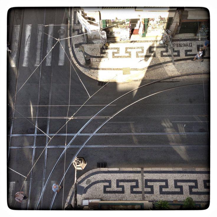 Tramway, Lisbonne By Flora Carreno