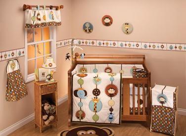 Buy Jungle Tails 7pc Infant Crib Bedding Set Online & Reviews