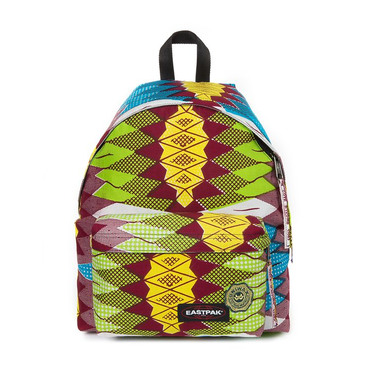 Eastpak Inspired by the World of Uniwax. A capture of the West and Central Africans' flair, originality and incredible sense of style. Spring Summer 2015.