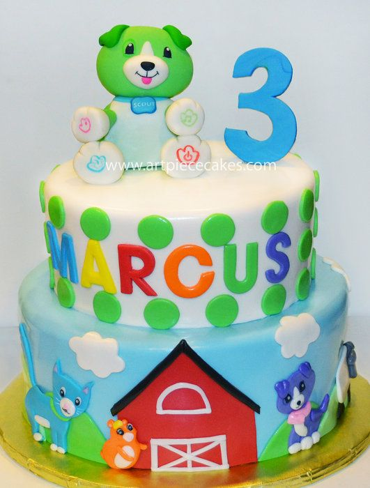 Scout of Leapfrog, perfect for Stella's third birthday party! @martin-Dion Bouffard