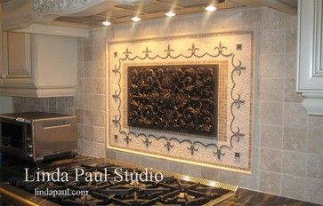 Kitchen backsplash ideas and designs - mediterranean - kitchen - other metro - Linda Paul
