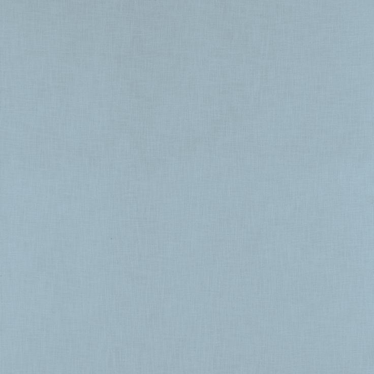 Bacall Plain Viscose/Linen Fabric Seaspray