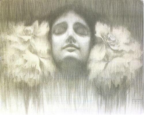 Dream (Alom), Ferenc Helbing, 1902. Via.: