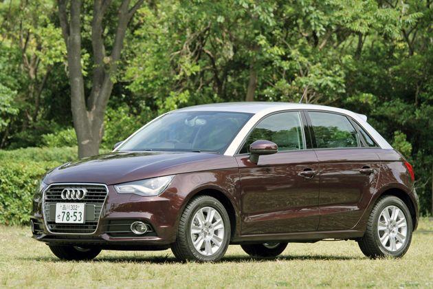 アウディ 新型 プレミアムコンパクト「Audi A1 Sportback」[ボディカラー:シラーズレッドメタリック/アイスシルバーメタリック(コントラストルーフカラー)] | 画像 | アウディ A1 スポーツバック 試乗レポート/渡辺陽一郎
