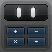 Calcbot — The Intelligent Calculator  By Tapbots    Calcbot is a simple and beautifully designed calculator for your iPhone, iPod touch and iPad.
