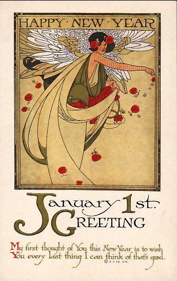 Happy New Year Postcard...