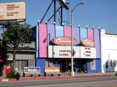 NEW BEVERLY CINEMA, Los Angeles, California