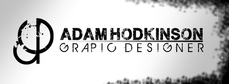 New cover photo I just designed for myself #GraphicDesigner #Corroded #Adam #Gradient   #Logo #Brush #Black #White