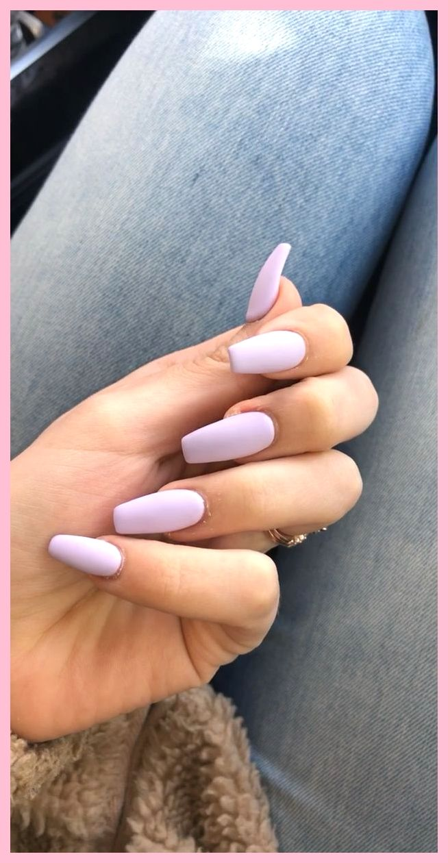Mat Paarse Acrylnagels Acrylnagels Paarse Paarse Acrylnagels Nagels Nagelideeen
