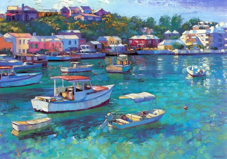 Bermuda by Howard Behrens.  I've never seen this one.  Gorgeous!