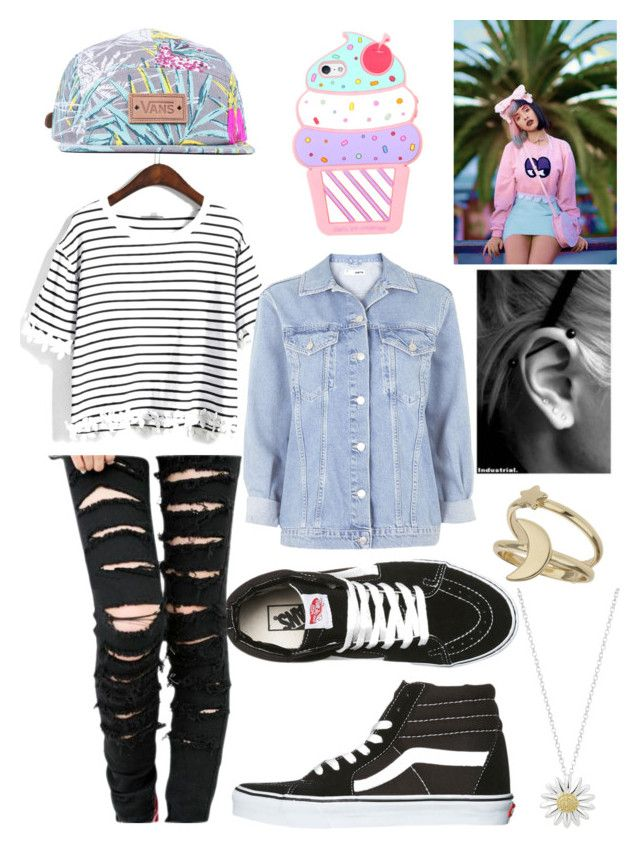 """""""Melanie Martinez (inspired)"""" by llavenderdreams77 ❤ liked on Polyvore featuring moda, Vans, Topshop, Miss Selfridge e Daisy Jewellery"""