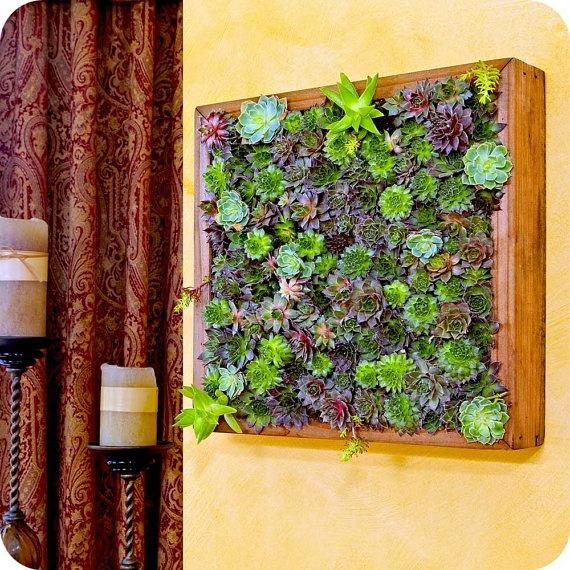 Secret Garden Frame Feng Shui Decor Living Wall Living