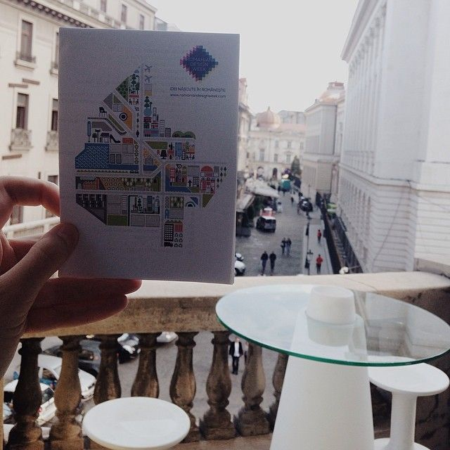Map-up for the collateral events. Pick it up from the Palace of the National Chamber of Commerce on Lipscani today at 7PM. #romaniandesignweek #RDW2014 #bucharest  keep up with RDW 2014 on instragram @romaniandesignweek