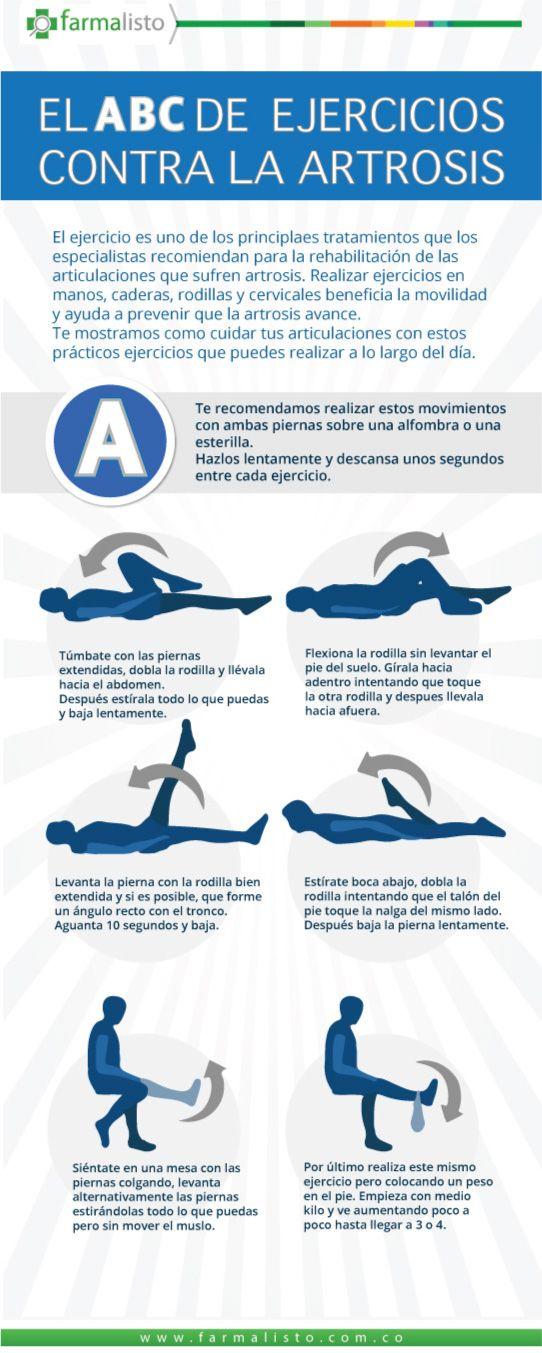 El ABC de ejercicios contra la artrosis parte I - Blog Droguería Farmalisto