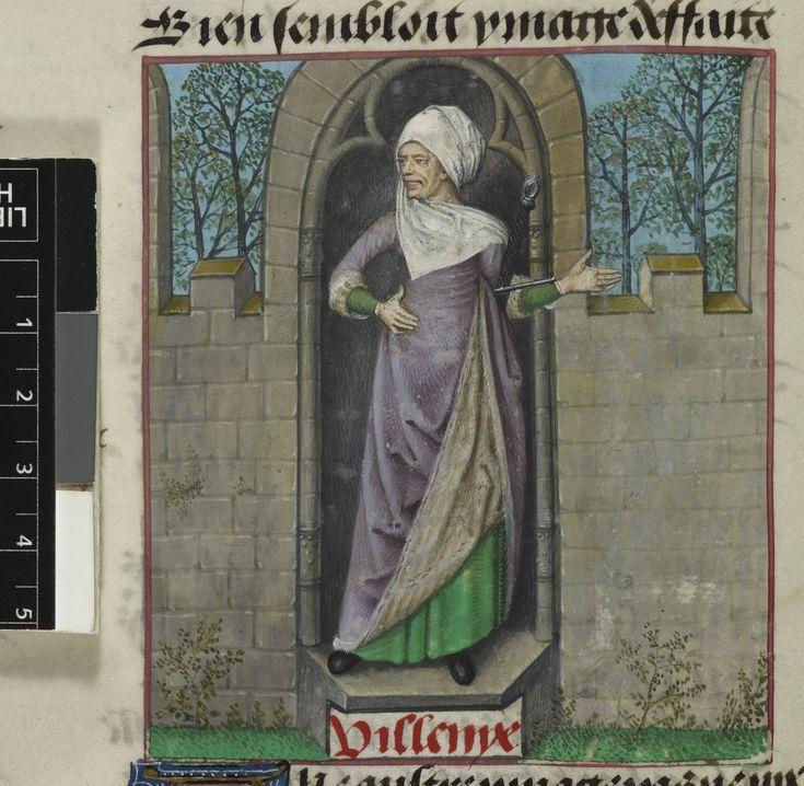 Harley 4425 AuthorGuillaume de Lorris and Jean de Meun TitleRoman de la Rose OriginNetherlands, S. (Bruges) Datec. 1490-c. 1500 LanguageFrench Folio 9