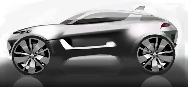 Renault CompactSUV by Vladislav Mazolevski, via Behance