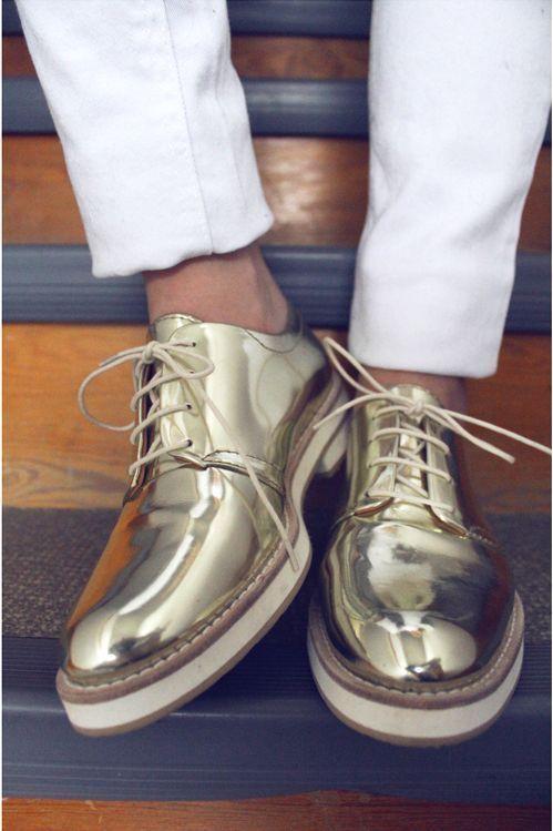 liamlynchphotographer:  fashion-spectrum:  New rule of men's fashion: Let your shoes sparkle