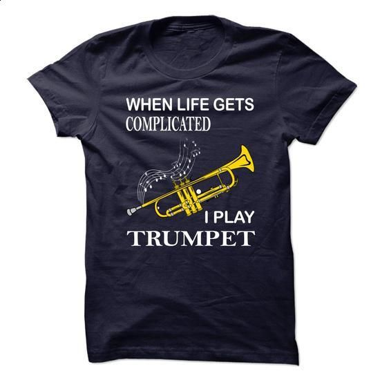 Trumpet - #shirt skirt #tshirt estampadas. GET YOURS => https://www.sunfrog.com/Music/Trumpet-67893955-Guys.html?68278