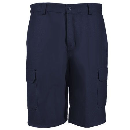 Wrangler Workwear Men's Navy WP90 NV Functional Canvas Shorts