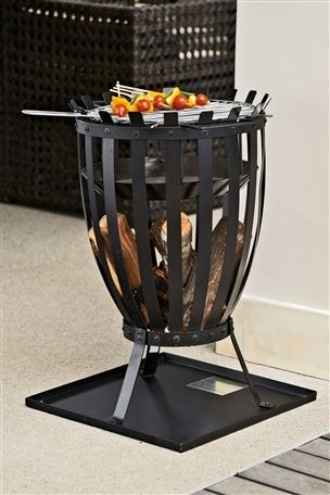 Fire Basket....perfect for the English summer.