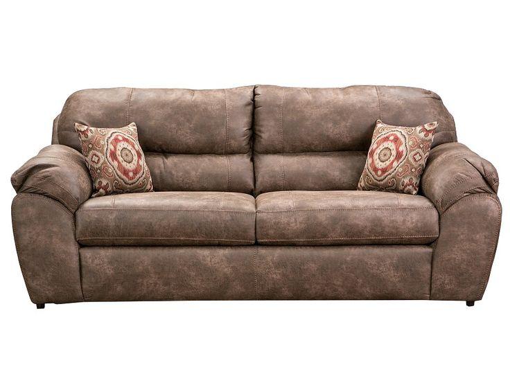 Slumberland torres collection river rock sofa - Slumberland living room furniture ...