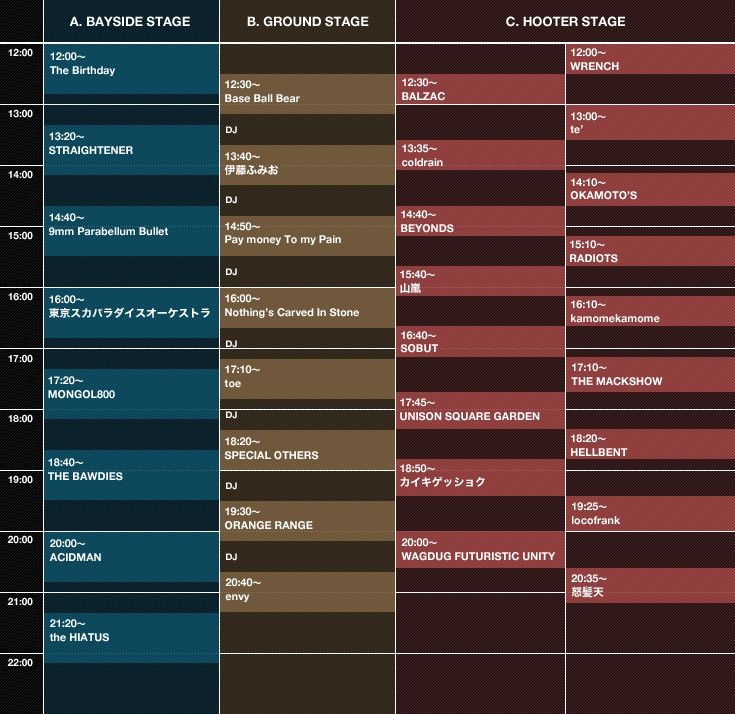 DEVILOCK NIGHT THE FINAL 2.26 TIME TABLE